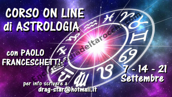 corso on line astrologia